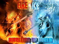 Fire vs. Ice cover